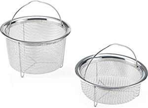 Instant Pot Official Mesh Steamer Baskets, Set Of 2, Stainless Steel