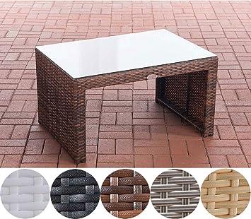 CLP Poly Rattan Garten Lounge Tisch Casablanca Ca. 85 X 60 Cm I