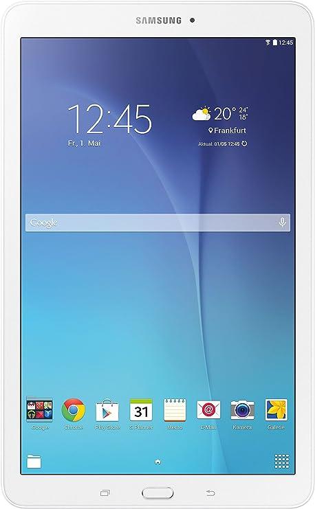 Samsung Galaxy Tab E SM-T560 8GB Color Blanco - Tableta de tamaño Completo, Pizarra, Android: Amazon.es: Informática