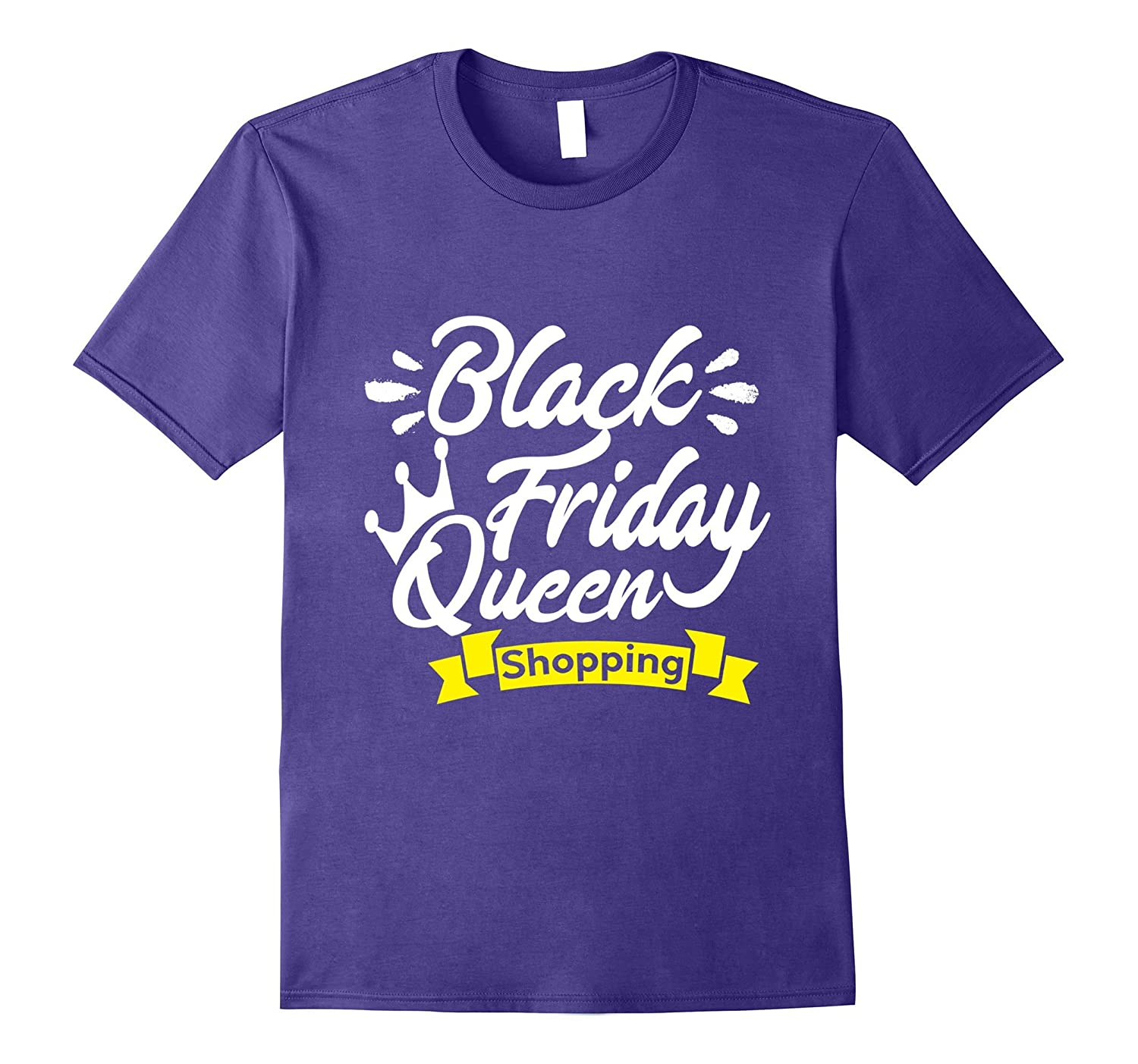 Black Friday Shopping Queen 2017 T-Shirt-FL