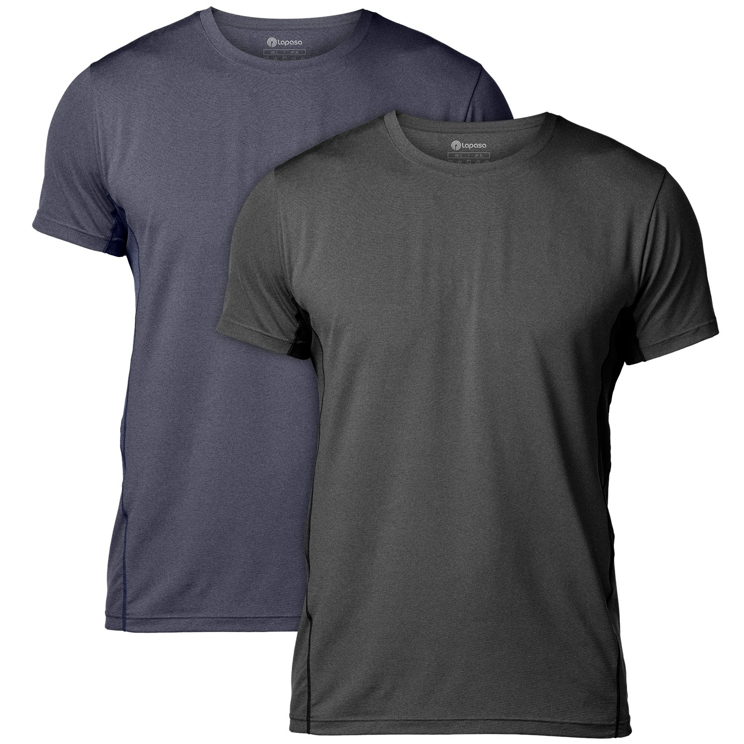 LAPASA Uomo T-Shirt Performance Cupro – Tecnologia ANTIODORE- Sport Running  Palestra M15 product e7901716b52a