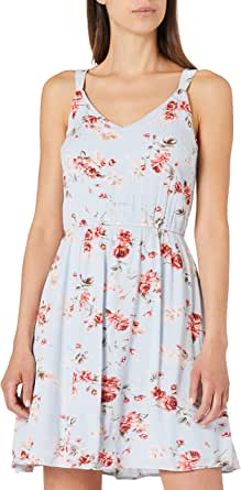 Only Onlkarmen S/L Short Dress AOP Wvn Noos Vestido para Mujer