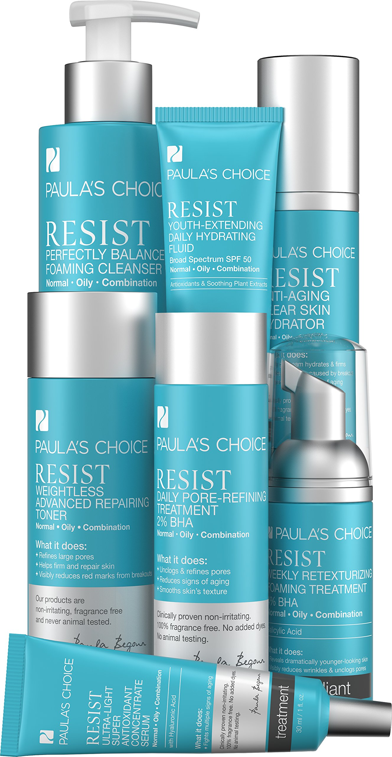 Paula's Choice RESIST Advanced Kit for Normal to Oily Skin