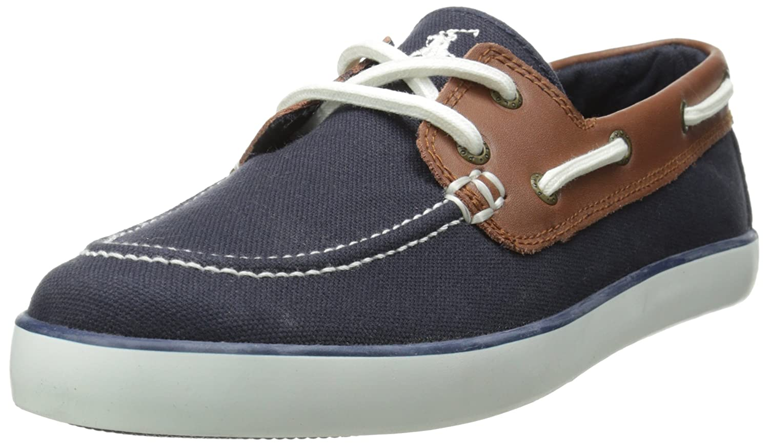 Polo Ralph Lauren Kids' Sander-CL Boat Shoe (Toddler/Little Kid/Big Kid) SANDER-CL - K