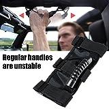 AnTom Jeep Wrangler Roll Bar Grab Handles, Grip