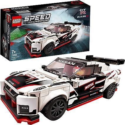 Lego Speed Champions Nissan Gt R Nismo Voiture De Course Avec Figurine De Chauffeur De Course Sets De Construction De Voitures De Course 96 Pieces 76896 Amazon Fr Jeux Et Jouets