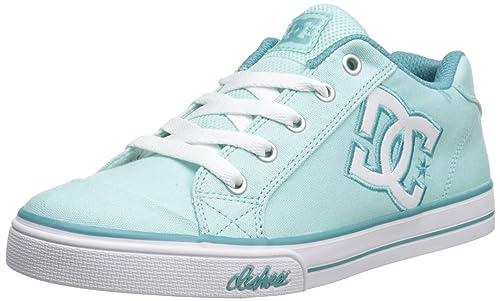 DC Shoes Chelsea Canvas - zapatillas de skateboard de lona niña: Amazon.es: Zapatos y complementos