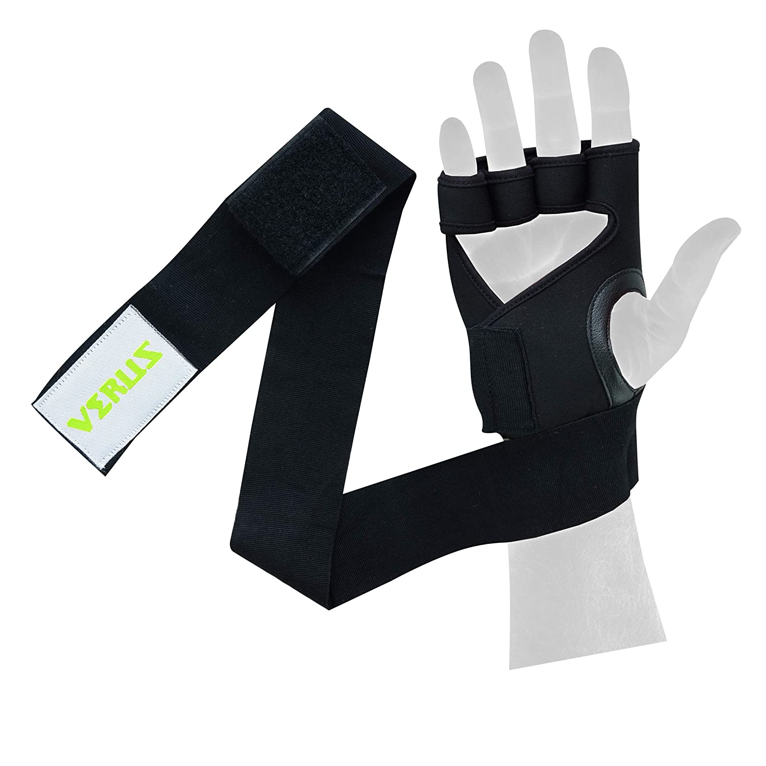 Verus by Lakeview Neoprene Gel Wrap Weightlifting Cross-fit Bodybuilding Fitness Training Gloves