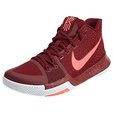 separation shoes 8b86f 045ad Nike Mens Kyrie 3 Midnight Basketball Shoes Red White