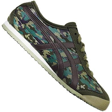 Asics Onitsuka Tiger Mexico 66 Camo Military Damen Sneaker Schuhe Camouflage, Schuhgröße:eur 37;Farbe:camouflage