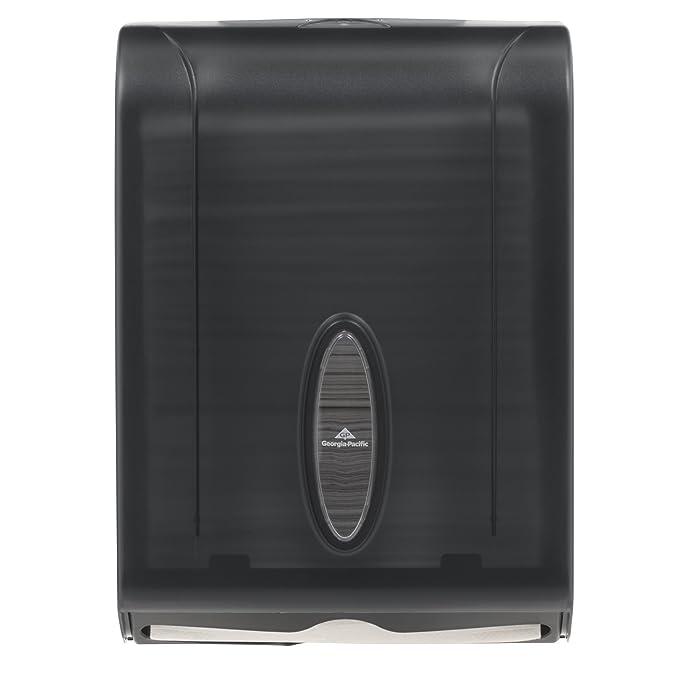 GP 56650/01 translúcido Combinación Humo C-Fold o Papel Multifold Towel Dispenser, 11