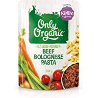Only Organic Beef Bolognese Pasta Kindy 1-5 Years - 220g