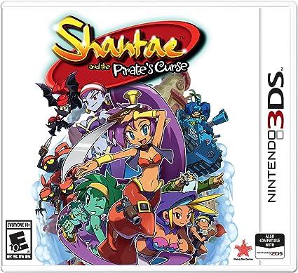 Amazon.com: Shantae and the Pirates Curse - Nintendo 3DS ...