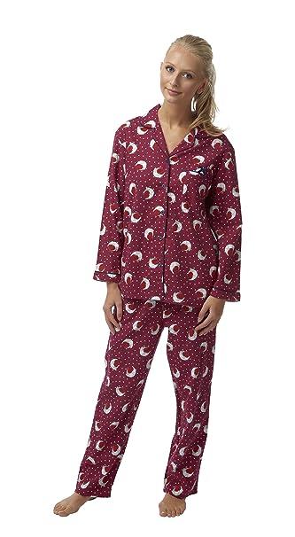 Pijama de algodón cepillado .