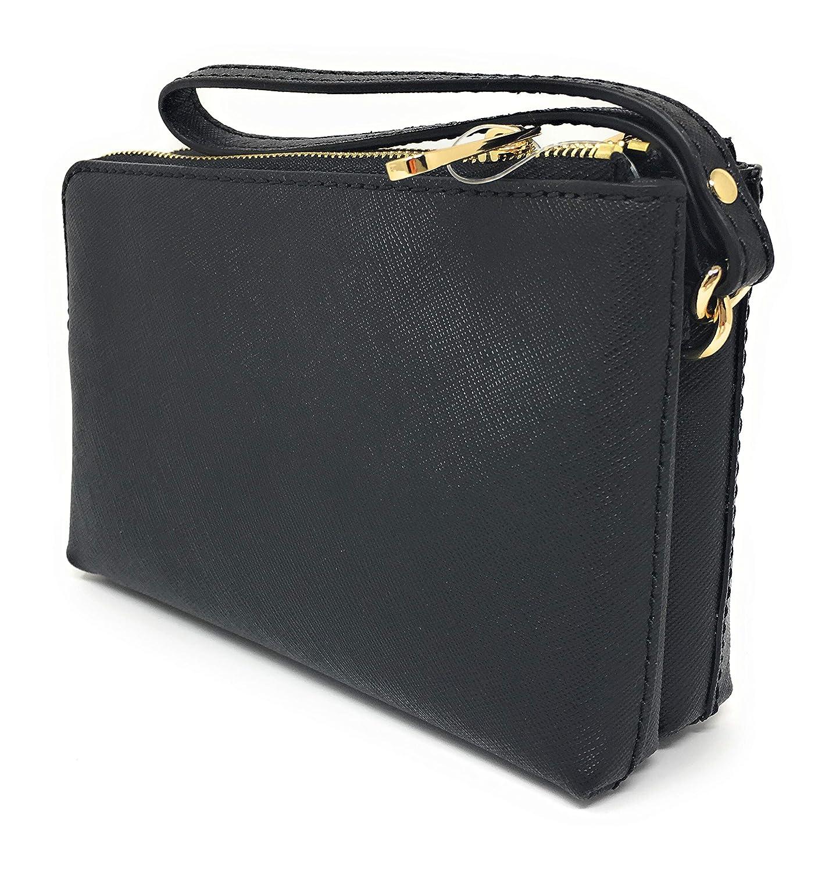 82cf10fbb060 Michael Kors 35H7GTVC7L BLACK Clutch Woman Black TAU: Amazon.co.uk: Shoes &  Bags
