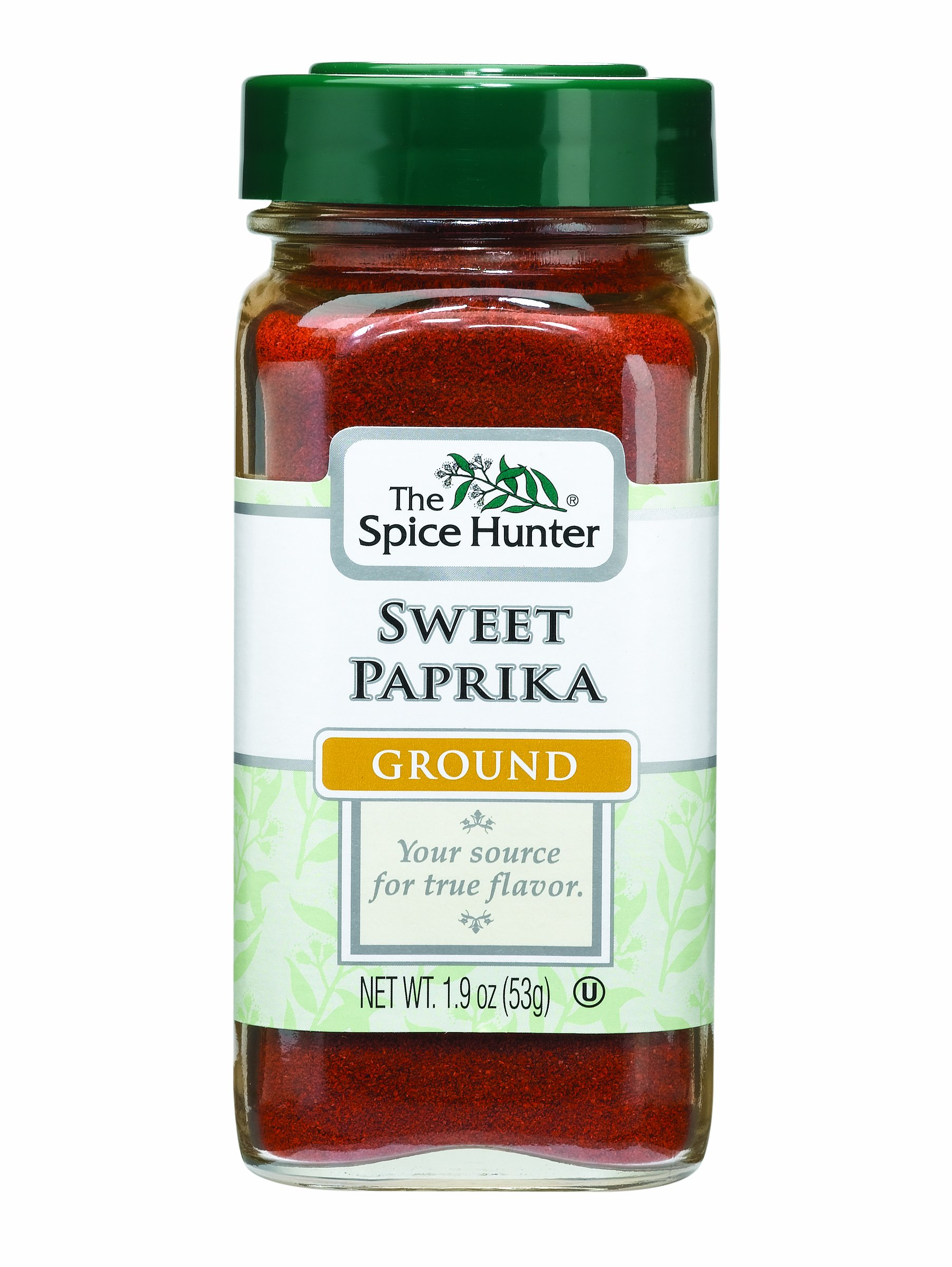 The Spice Hunter Paprika, Sweet, Ground, 1.9-Ounce Jars (Pack of 6)