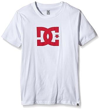 DC Shoes Star SS by B Tees XWWR Camiseta, niño, Blanco (White ...
