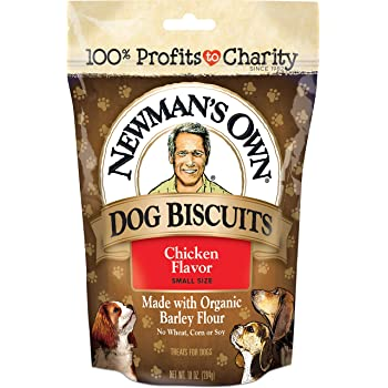 Amazon.com : Newman's Own Dog Biscuits, Chicken Formula