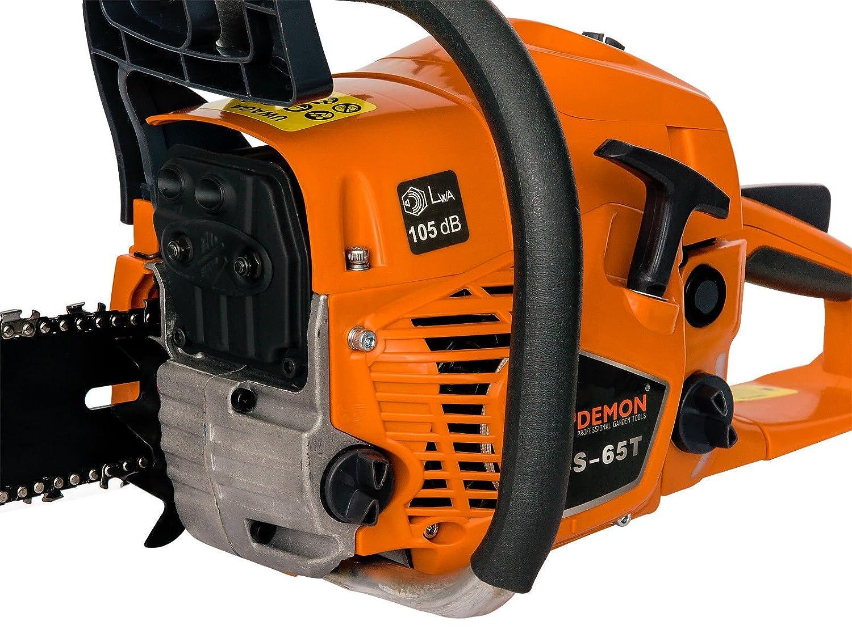 L-PIL-DEM 2 Ketten 65 cm3 3,2 kW Benzin Motorsäge Motorkettensäge Kettensäge