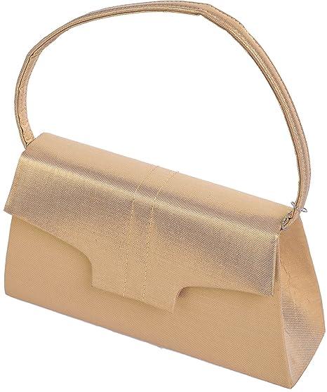 LEXUS - Bolso de asas para mujer negro y dorado dorado