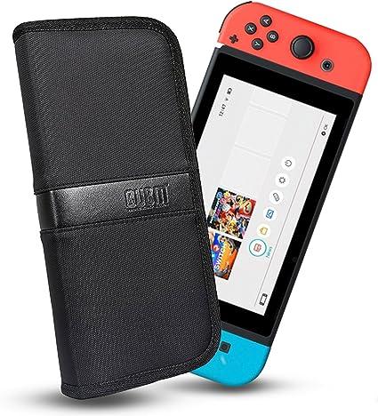 Funda Nintendo Switch, Bolso de viaje para Nintendo Switch/ Original DS / 3DS / DS Lite / Nintendo 3DS XL / DSi y accesorios para, Negro: Amazon.es: Instrumentos musicales