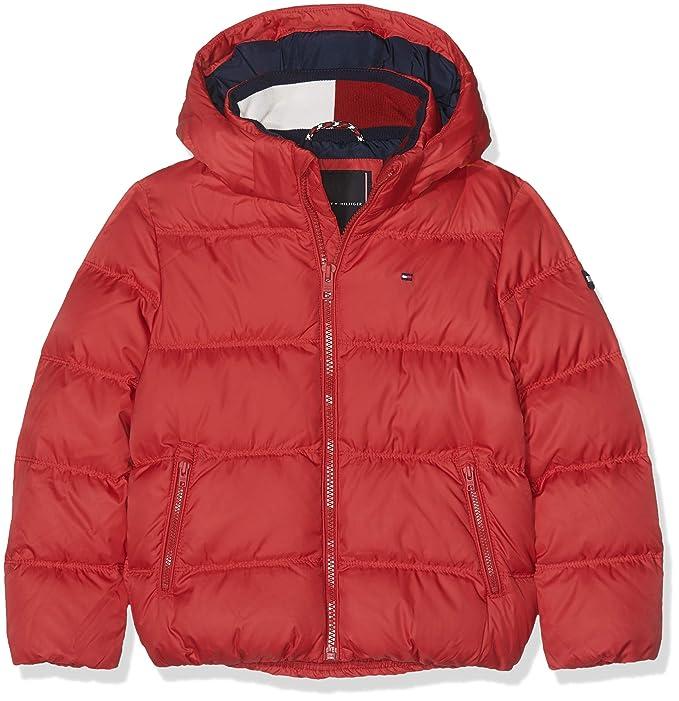 0e516b8983 Tommy Hilfiger Essential Basic Down Jacket Giacca Bambino: Amazon.it ...