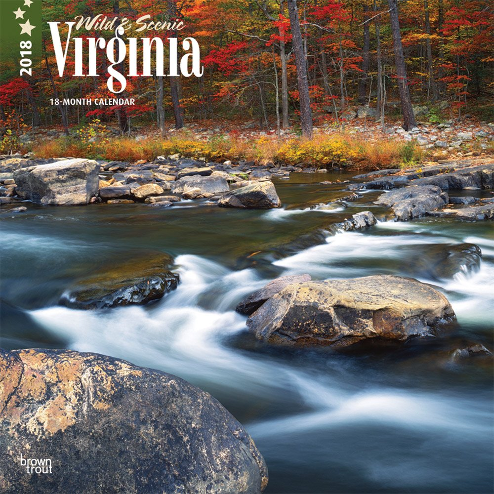 Download Virginia, Wild & Scenic 2018 12 x 12 Inch Monthly Square Wall Calendar, USA United States of America Southeast State Nature (Multilingual Edition) PDF