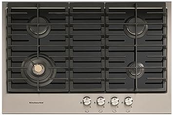 KitchenAid KHGH 7510/I hobs - Placa (Integrado, Combi, Acero ...