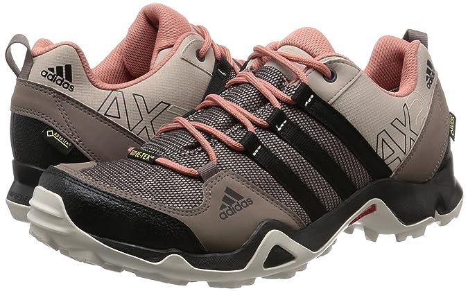 Adidas AX2 Gore Tex Damen Trail Walking Schuhe schwarz
