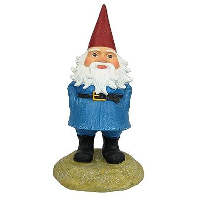 Exhart 8-Inch Travelocity Gnome : Outdoor Statues : Garden & Outdoor