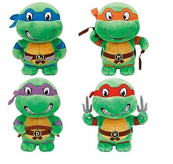 Ty Tortugas Ninjas Mutantes Adolescentes (Juego de 4): Amazon.es ...
