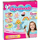 Aquabeads 65100 - Aqua Beads Starter Set - Classic 800 Pieces - Bead Art Toy - Just Spray with Water Playset
