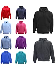Zmart Australia Adult Unisex Men's Pullover Plain Hoodie Hooded Jacket Sweatshirt Sports Jumper