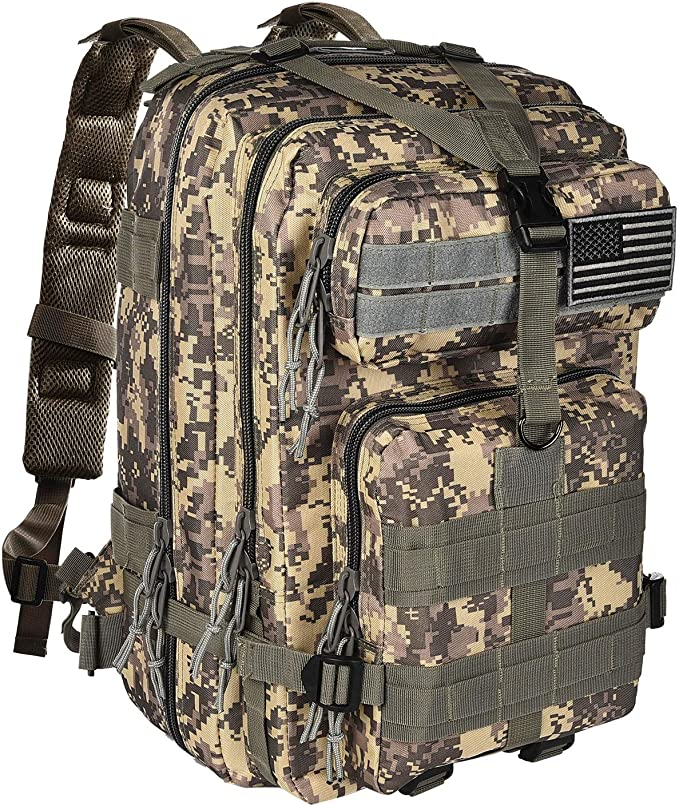 NOOLA Military Tactical Backpack Large Army 3 Day Assault Pack...