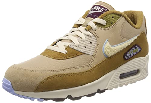 1608eeed57 Nike Men's Air Max 90 Premium Se Gymnastics Shoes, Brown (Muted Bronze/Light