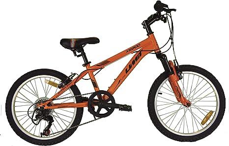 Umit 20 Pulgadas Bicicleta XR-200 Naranja, Partir de 6 años, con ...