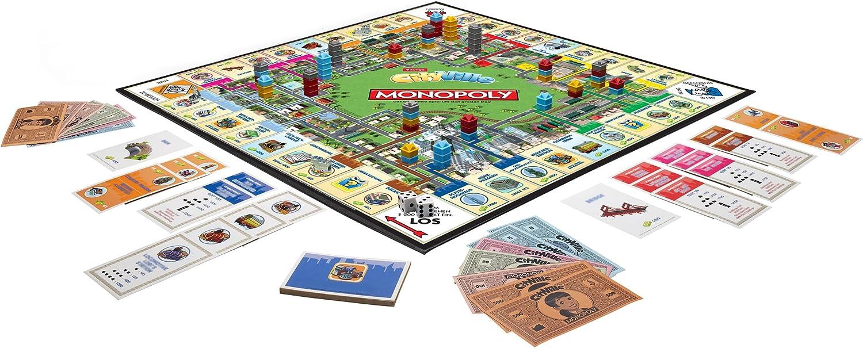 Hasbro Monopoly City Ville - Juego de Tablero (Multi): Amazon.es: Juguetes y juegos