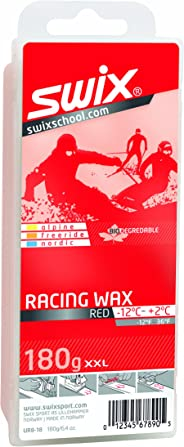 Swix Bio Degradable Ski/Snowboard Average Temperature Wax (180g Bar)