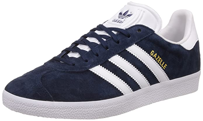 adidas Herren Gazelle Low-Top Blau Collegiate Navy