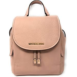 df9256bc9bba Michael Kors Riley MD Backpack Leather Pastel Pink (35F8GRLB2L)