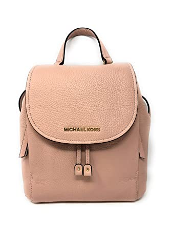 fc657c919fc4 Amazon.com | Michael Kors Riley MD Backpack Leather Pastel Pink ...