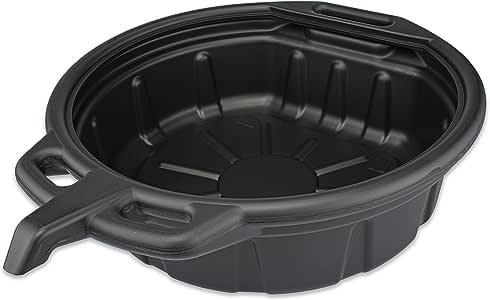 Neiko 20762A Anti Splash Oil Drain Pan, 2 Gallon (8 Liter) Capacity