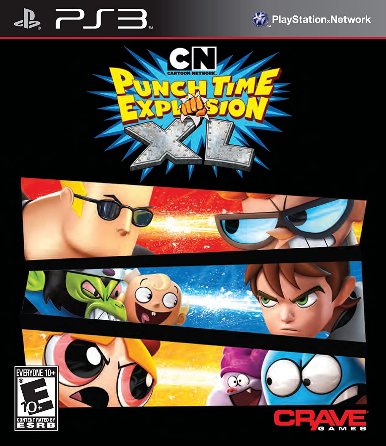 amazon cartoon network punch time explosion xl 輸入版 ps3
