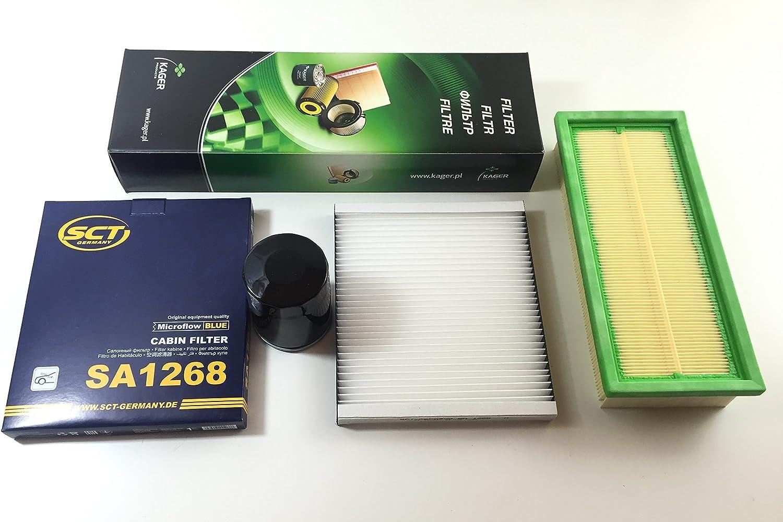 Filtro de aceite Filtro de aire Filtro de Polen Panda 169/1.1/1.2/44/kW AB MOT.Nr 1890666