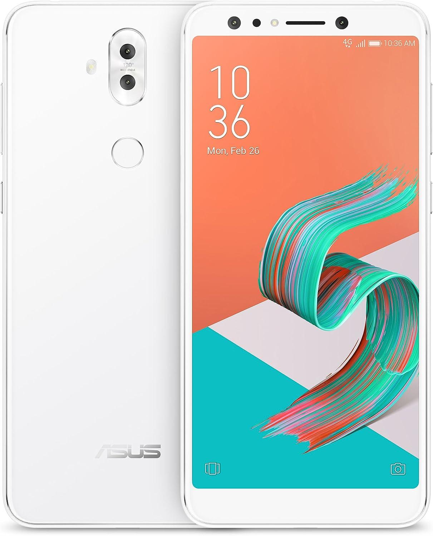 ASUS ZenFone 5Q (ZC600KL-S630-4G-64G-WH) - 6 FHD 2160x1080 display - Quad-camera - 4GB RAM - 64GB storage - LTE Unlocked Dual SIM Cell Phone - US Warranty - White 81pey32BdE2L
