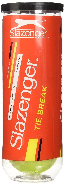 Slazenger 0503040 Pelotas en Bote, Unisex Adulto, Amarillo, 3 Unidades