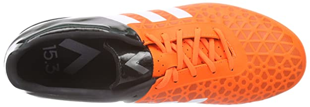 be5eb8ec6982e4 Adidas Ace 15.3 in, Chaussures de Football Homme Orange  (Orange ORASOL )  44 EU S83221