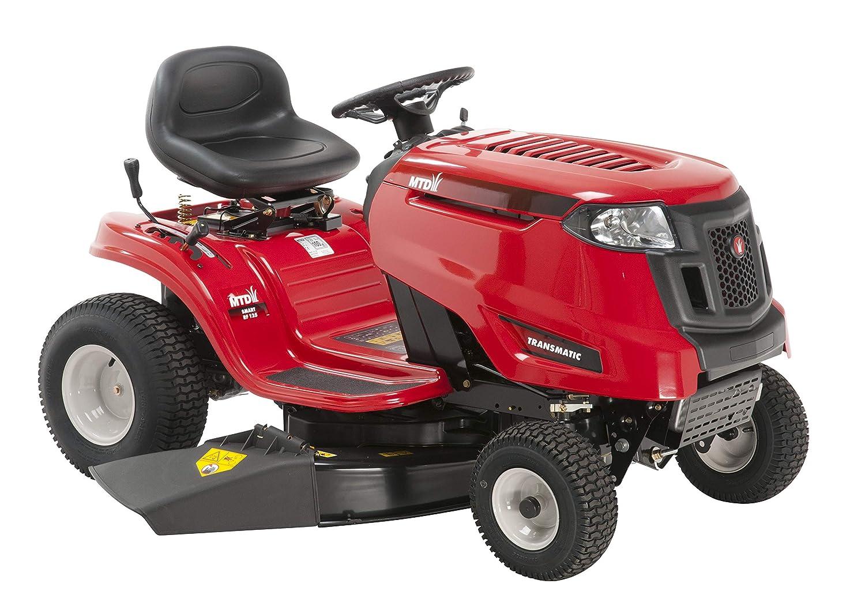 MTD Tractor cortacésped RF125, E-Starter, 382 CC, Rojo: Amazon.es ...