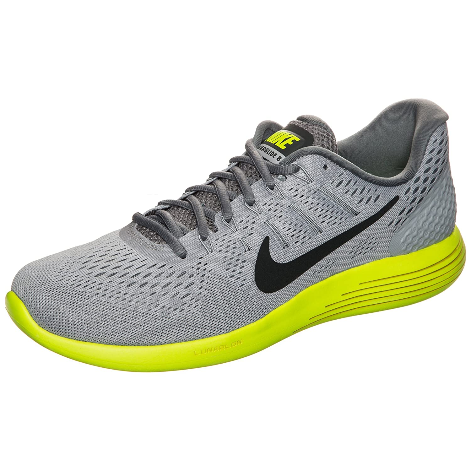 Nike Mens Lunarglide 8, Black / White - Anthracite B01JZYN4PE 12.5 D(M) US|Grey/Anthracite/Volt/Cool Grey