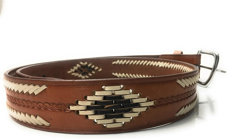 Cinto Vaquero Casual leather belt Mens Western Belt